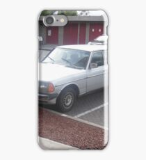 MERCEDES 1984 LIMOUSINE SEDAN 300D W123  LONG WHEELBASE iPhone Case/Skin