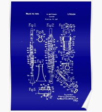 Clarinet poster Poster
