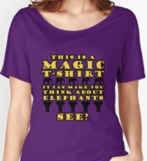 Magic T-Shirt (yellow) Women's Relaxed Fit T-Shirt