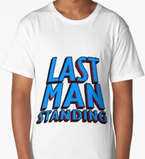Last Man Standing (blue) Long T-Shirt