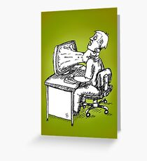 No Caption Needed Greeting Card