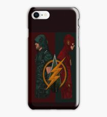 Flash Arrow row iPhone Case/Skin