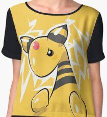 Ampharos Pokémon Silver and Pokémon Gold Women's Chiffon Top