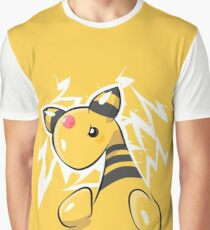 Ampharos Pokémon Silver and Pokémon Gold Graphic T-Shirt