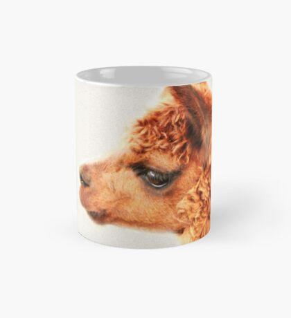 Ein Alpaka-Porträt Tasse