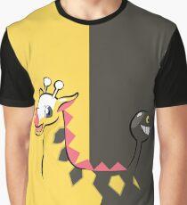 Girafarig Pokémon Graphic T-Shirt