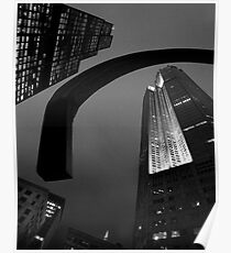 Architectural Abstraction Poster