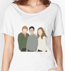 Why is it, when something happens, it is always you three? Women's Relaxed Fit T-Shirt