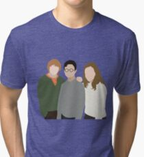 Why is it, when something happens, it is always you three? Tri-blend T-Shirt