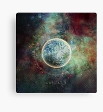 Habitat 7 Canvas Print