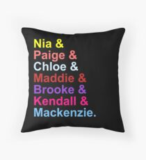 Dance Moms - Original Seven Throw Pillow