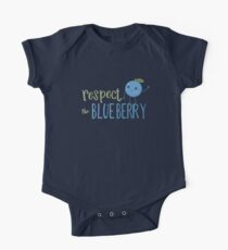 Respect The Blueberry - Cute One Piece - Short Sleeve