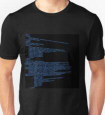 HTML Background Unisex T-Shirt