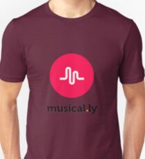 Musically // Musical.ly Logo Unisex T-Shirt