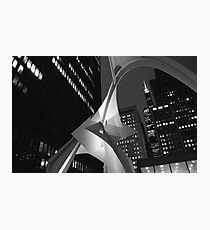 Downtown with Calder Photographic Print