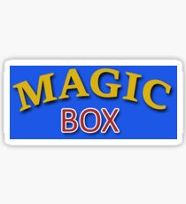 The Magic Box Sticker