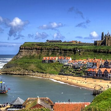 The Endeavour in Whitby Harbour by tomg