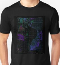 USGS TOPO Map Iowa IA Council Bluffs South 174394 1956 24000 Inverted Unisex T-Shirt