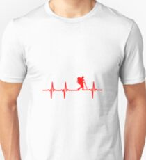 Wandern EKG Unisex T-Shirt