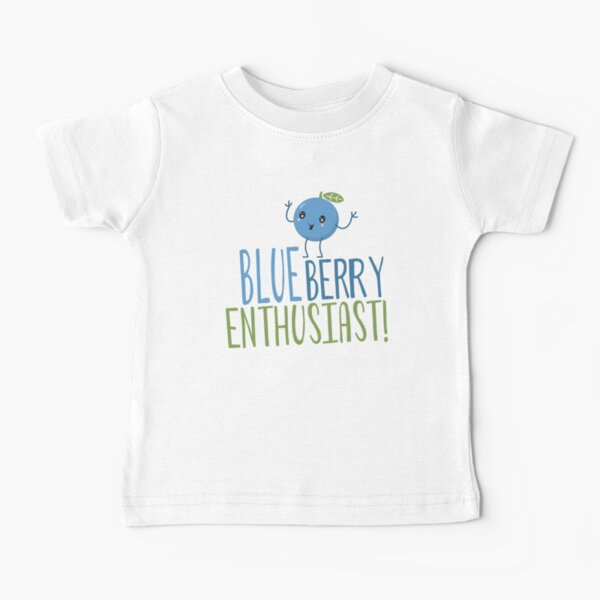 Blueberry Enthusiast Baby T-Shirt