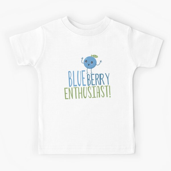 Blueberry Enthusiast Kids T-Shirt