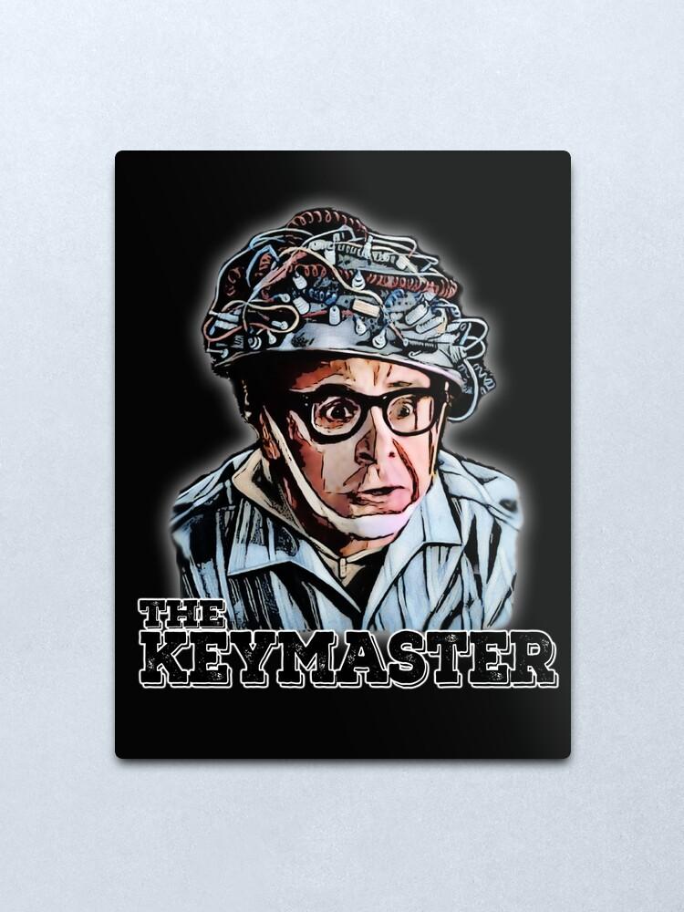 Alternate view of the keymaster Metal Print