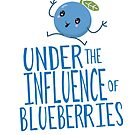 Under the influence of Blueberries by jitterfly