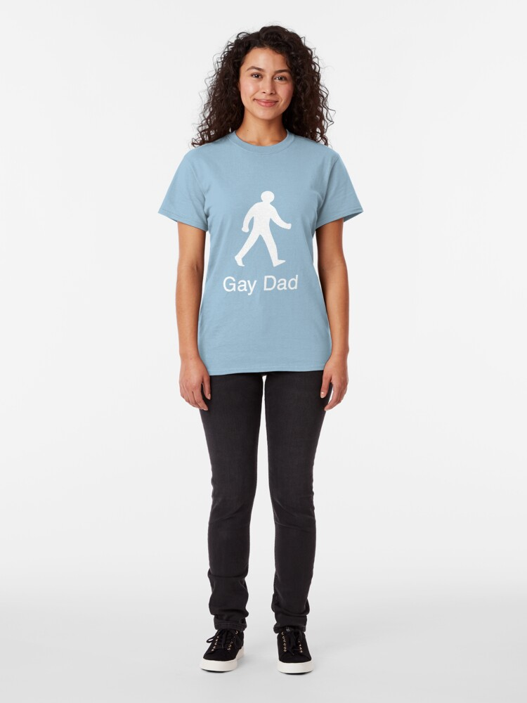 Alternate view of Gay Dad - The Next Generation Classic T-Shirt