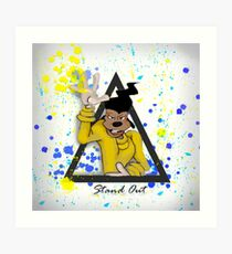 Stand Out/Goofy Movie Art Print