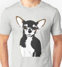 Zoe the Chihuahua Cartoon Portrait T-Shirt