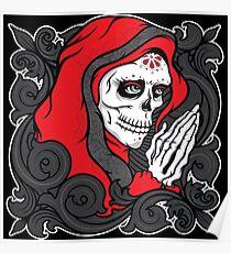 La Catrina - Red version Poster