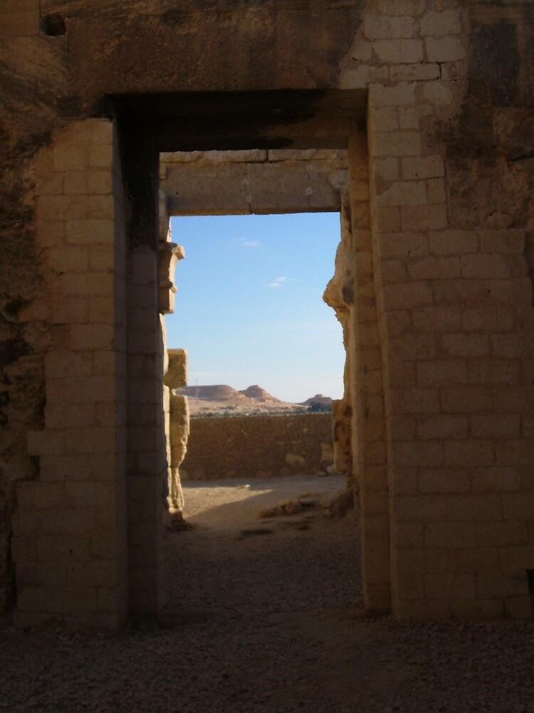 Door to the Sahara by Fernie