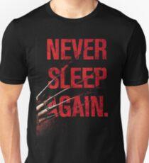 Freddy Krueger - Never Sleep Again Unisex T-Shirt