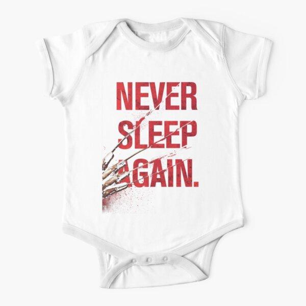 Freddy Krueger - Never Sleep Again Short Sleeve Baby One-Piece