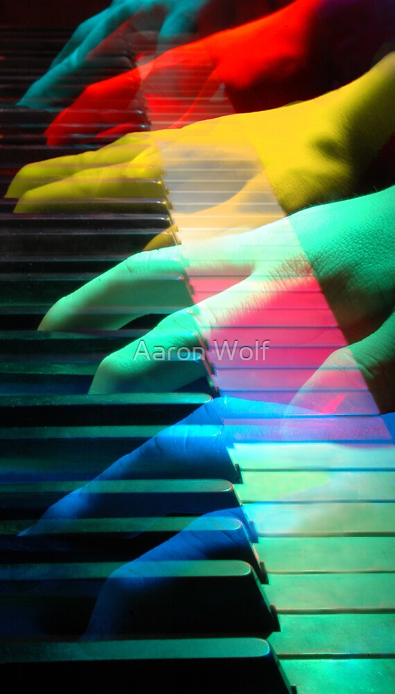 Ghostly Music by Aaron Wolf