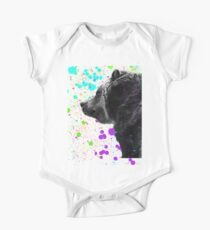 Bear in a Snowstorm 2 One Piece - Short Sleeve