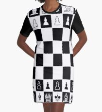 SCHACH T-Shirt Kleid