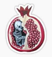 Fetal Pomegranate  Sticker