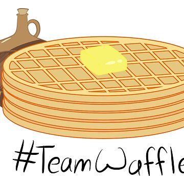 #TeamWaffle by HuffleRuff