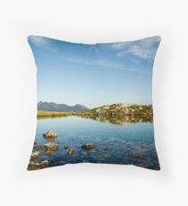 The mirror of Harstad Throw Pillow
