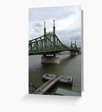 Danube  Greeting Card