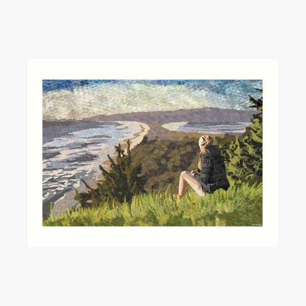 Bay view Art Print