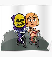 Skeletor & He-Man Poster