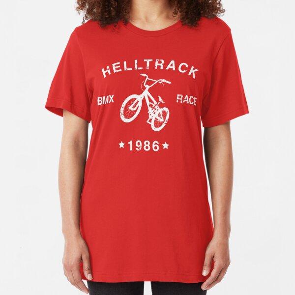 Helltrack (RAD 1986) Slim Fit T-Shirt