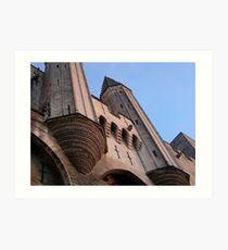 Avignon's Palais des Papes Art Print