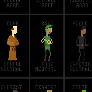 RPG Alignments by HuffleRuff