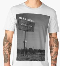 Mars Argo vintage deserted billboard design Men's Premium T-Shirt