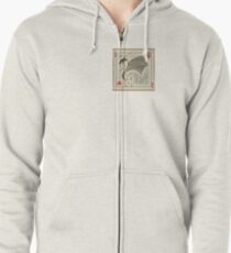 Dragon of Hearts  Zipped Hoodie