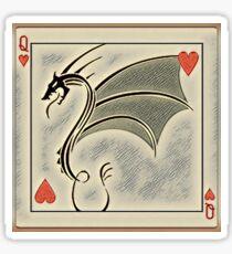 Dragon of Hearts  Sticker