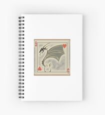 Dragon of Hearts  Spiral Notebook